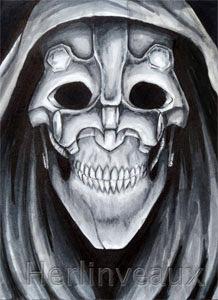 'Grey Metalface' By Jessica Herlinveaux ©